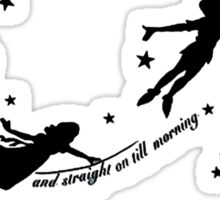 Second Star Peter Pan Sticker