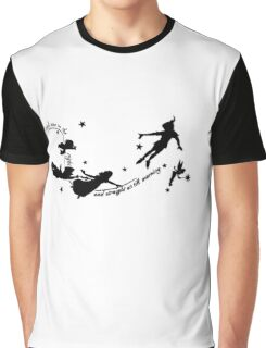 Second Star Peter Pan Graphic T-Shirt