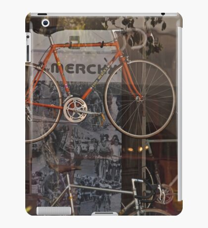 Bicycle Shop Window - Eddie Merckx Bikes iPad Case/Skin