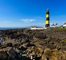 Saint John's Point Lighthouse  Northern Ireland by Zdrojewski