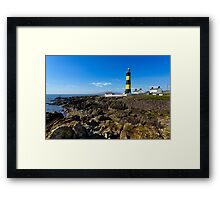 Saint John's Point Lighthouse  Northern Ireland Framed Print