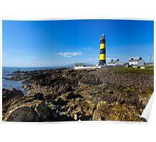 Saint John's Point Lighthouse  Northern Ireland Poster