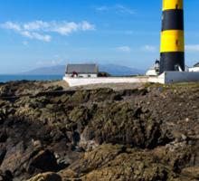 Saint John's Point Lighthouse  Northern Ireland Sticker
