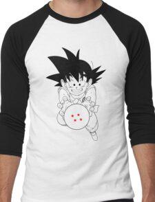 Goku and ball Men's Baseball ¾ T-Shirt