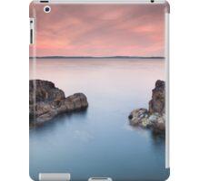 Pans Rock  Northern Ireland  Co Antrim  Ballycastle Northern Ireland iPad Case/Skin