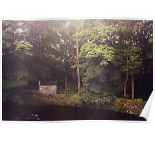 Kells Water River County Antrim Northern Ireland Poster