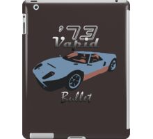 Vapid Bullet - Blue iPad Case/Skin