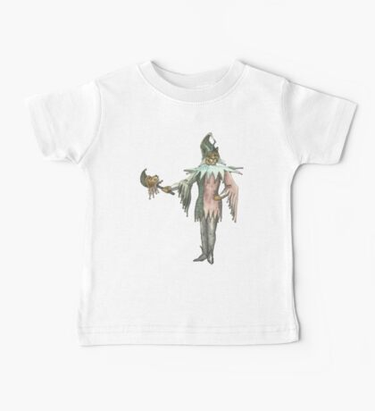 Clown Cat with Lion Puppet Baby Tee