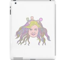 Mirrored girl iPad Case/Skin