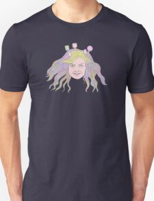 Mirrored girl Unisex T-Shirt