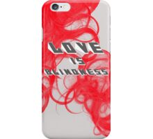 JACK WHITE - Love is Blindness iPhone Case/Skin