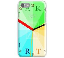 Take Your Time iPhone Case/Skin