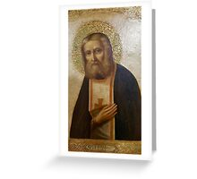 Venice Saints Icons Greeting Card