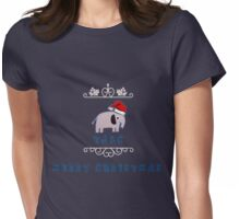 Christmas Johnlock Womens Fitted T-Shirt