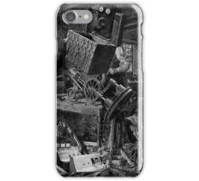 The Wooden Steam Engine Maker. iPhone Case/Skin