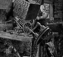The Wooden Steam Engine Maker. by nawroski .