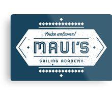 Maui's Sailing Academy Metal Print