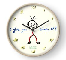 I Give You Time Clock Clock