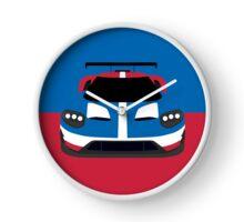 GT Race car simplistic design Clock
