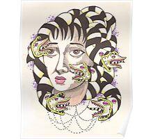 Lydia Deetz (Beetlejuice) as Medusa  Poster