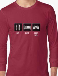 EAT SLEEP PLAY FIFA Long Sleeve T-Shirt