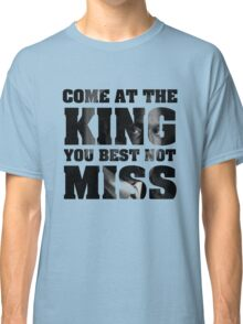 Omar Little - The Wire - Come at the king Classic T-Shirt