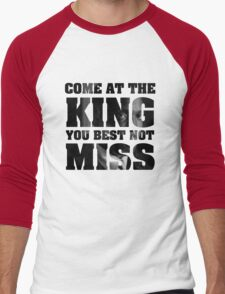 Omar Little - The Wire - Come at the king Men's Baseball ¾ T-Shirt