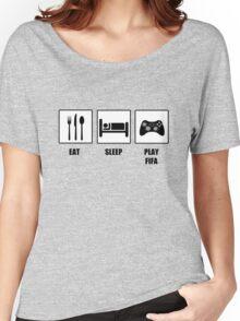 EAT SLEEP PLAY FIFA Women's Relaxed Fit T-Shirt
