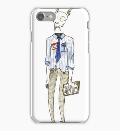 Hi, i'm Satan iPhone Case/Skin