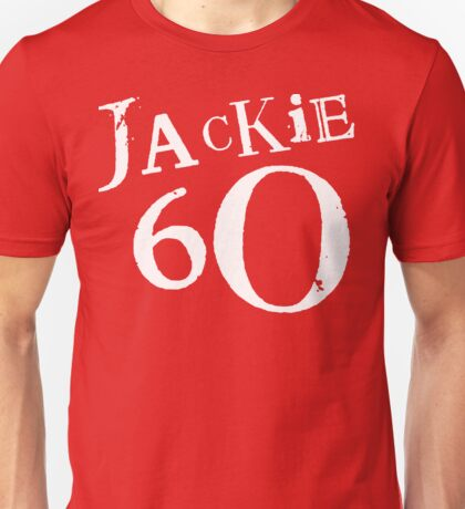 Red Holiday Editions Jackie 60 Logo  T-Shirt