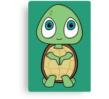 Happy Turtle Canvas Print
