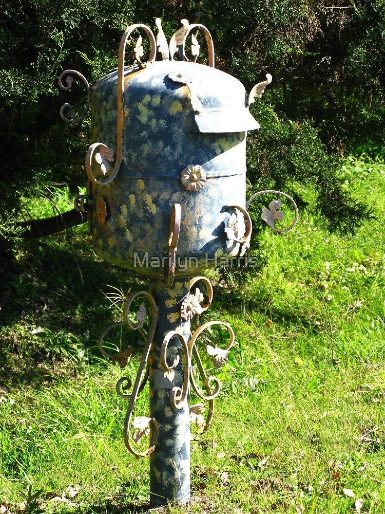 Artistic Letterbox by Marilyn Harris