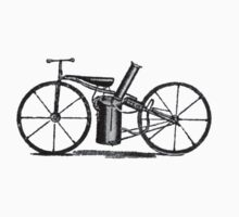 The very first motorbike or steam velocipede Kids Clothes