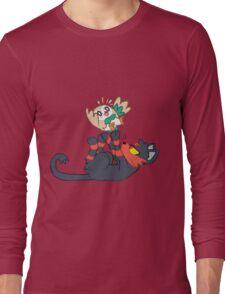 Litten and Rowlet! Long Sleeve T-Shirt