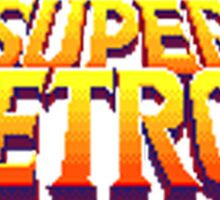 Space Metroid Title Screen Sticker
