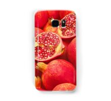 Pomegranate Red Samsung Galaxy Case/Skin