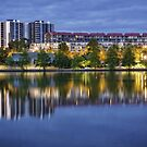 Lake Ginninderra in Canberra/Australia before Sunrise (3) by Wolf Sverak