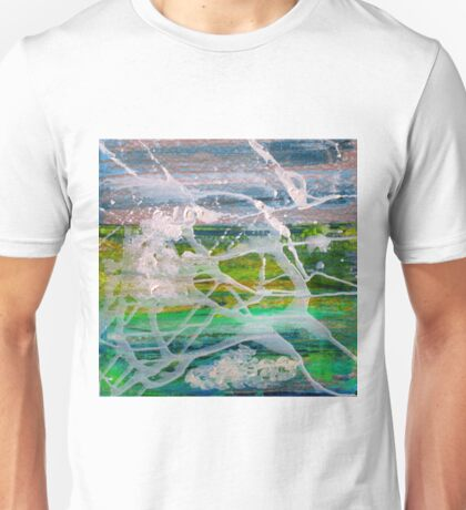 Laughing Gulls Flight Flurry Unisex T-Shirt