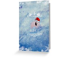 Johnlock Christmas Greeting Card