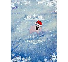 Johnlock Christmas Photographic Print