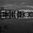 Lake Ginninderra in Canberra/Australia before Sunrise (4) by Wolf Sverak