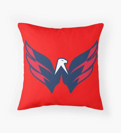 National Hockey League - Washington Capitals Throw Pillow