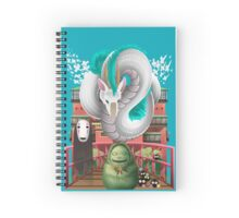 Spirited Away - Miyazaki Studio Ghibli Tribute Spiral Notebook