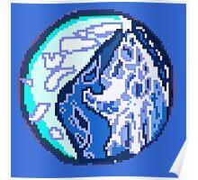 Pixel Planet Poster