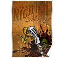 And the night shall be filled with music Poster