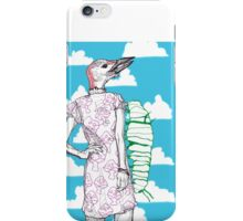 woodpecker and caterpillar iPhone Case/Skin