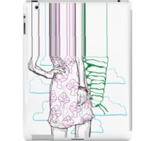 sketchbook surrealism iPad Case/Skin
