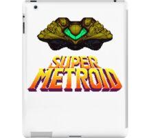 Space Metroid Ship Title Screen iPad Case/Skin
