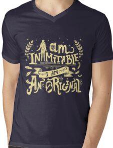 Inimitable Mens V-Neck T-Shirt