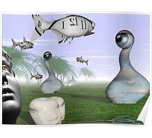 Corporate loan sharks encircling family dream  Poster